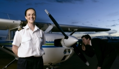 image for Pilot with an aircraft