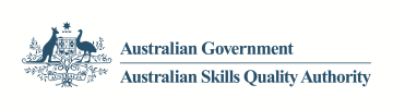 Logo for ASQA - Australian Skills Quality Authority