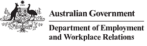 Logo for Department of Employment, Skills, Small and Family Business