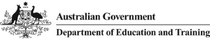 Logo for Department of Education